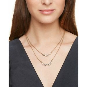 New Kate Spade Double Strand Necklace